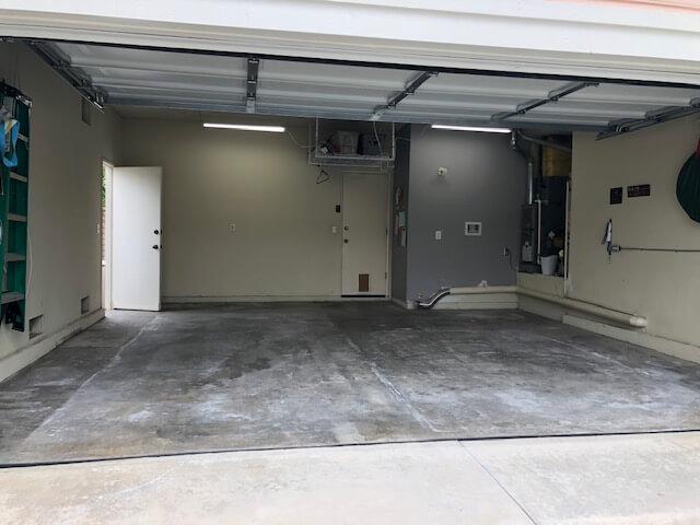 Plain Concrete Floor