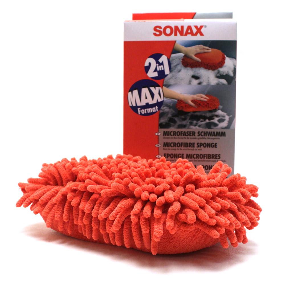 Microfiber Sponge Red