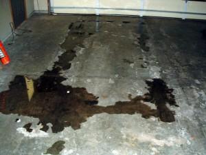 No Garage Floor Protection