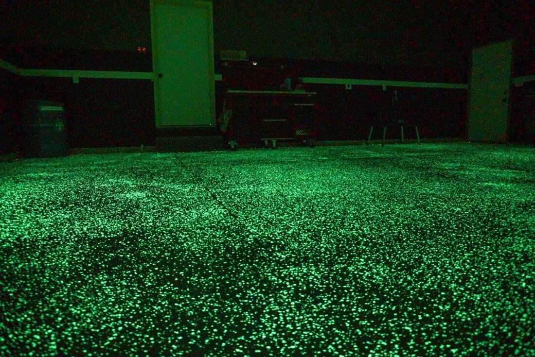 Glowing Garage