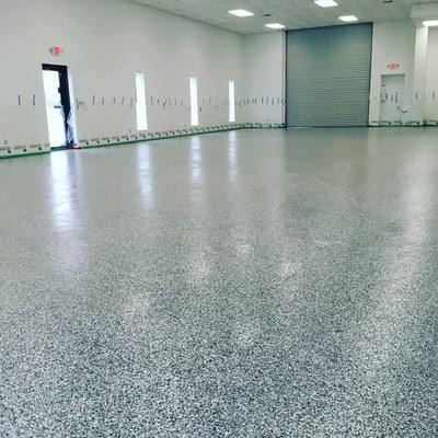 Pro Series Professional Full Broadcast Garage Floor Epoxy System