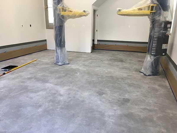 post concrete prep