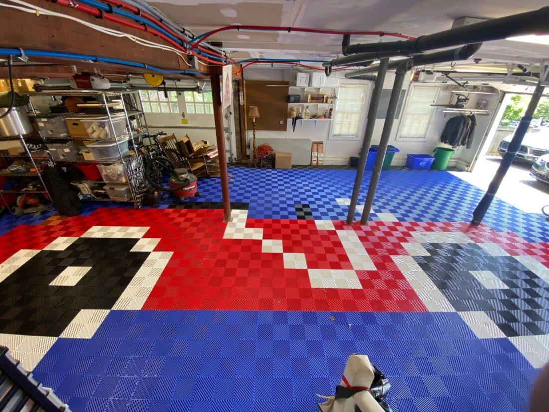Car and Garage Floor Tiles