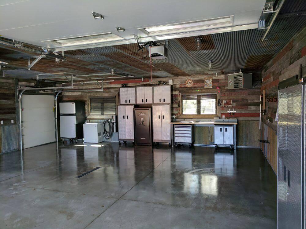 clear polyurea as garage floor sealer