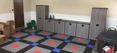 Brian's TrueLock HD Garage Floor Tile Project