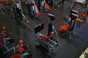 Rubber Flooring In Gym