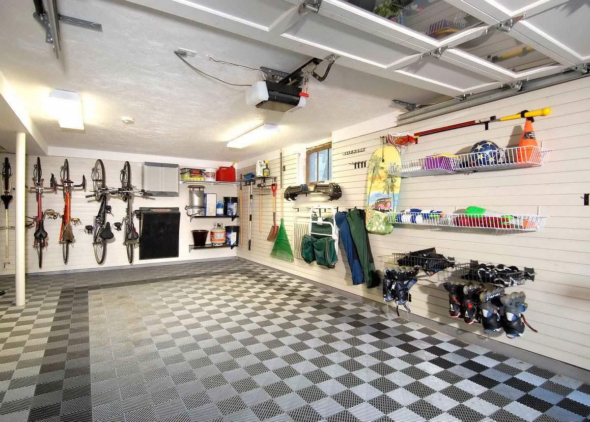 Classic Garage Tile Look