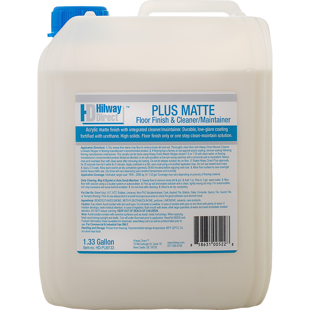 Hilway Direct - Plus Matte 1.33 gallon