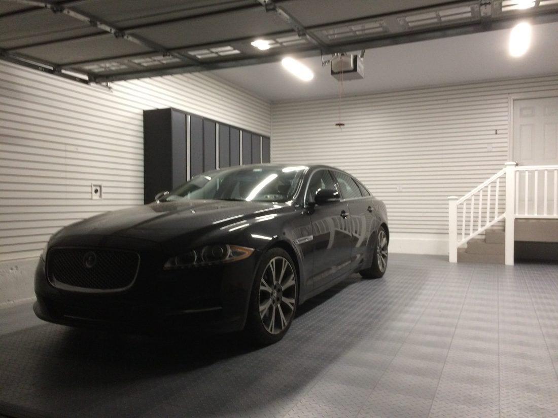 Mikes car n garage floor tile