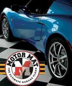 MotorMat Garage Floor Tile