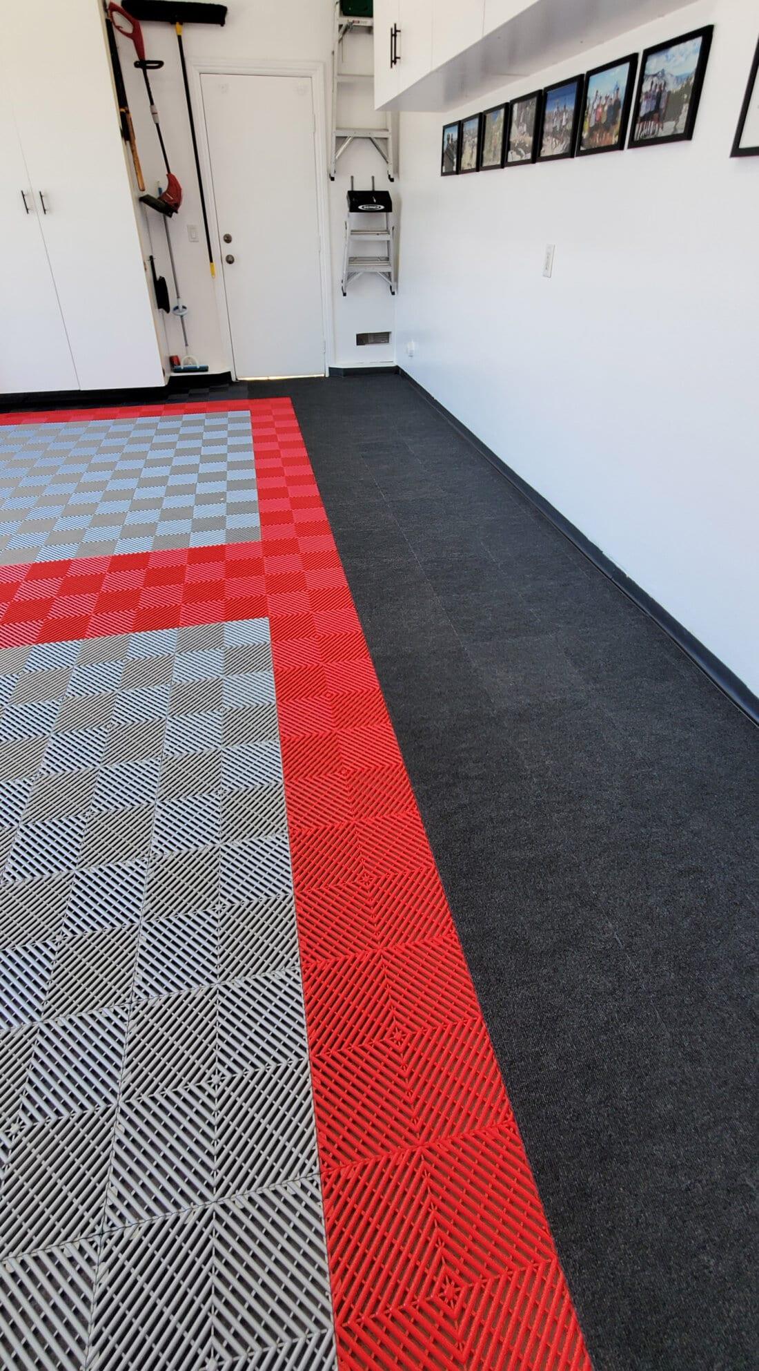 Neil's Ribbed garage floor