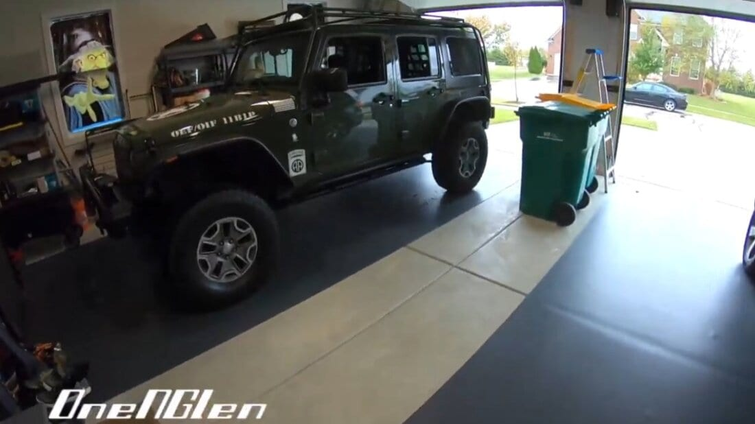 BLT Mats and Jeep