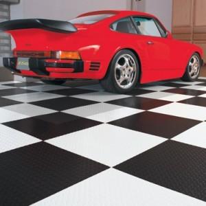 pvc tiles versus hard plastic garage tile