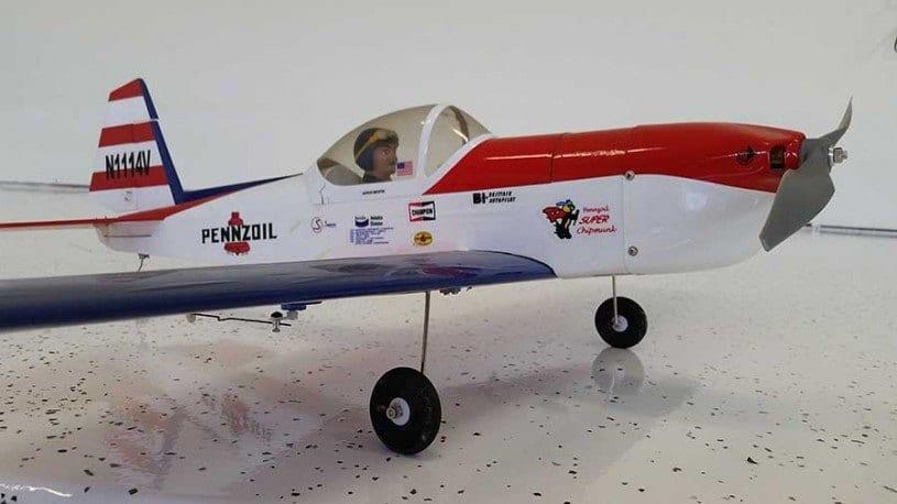 Side View RV Plane White Floor Coating