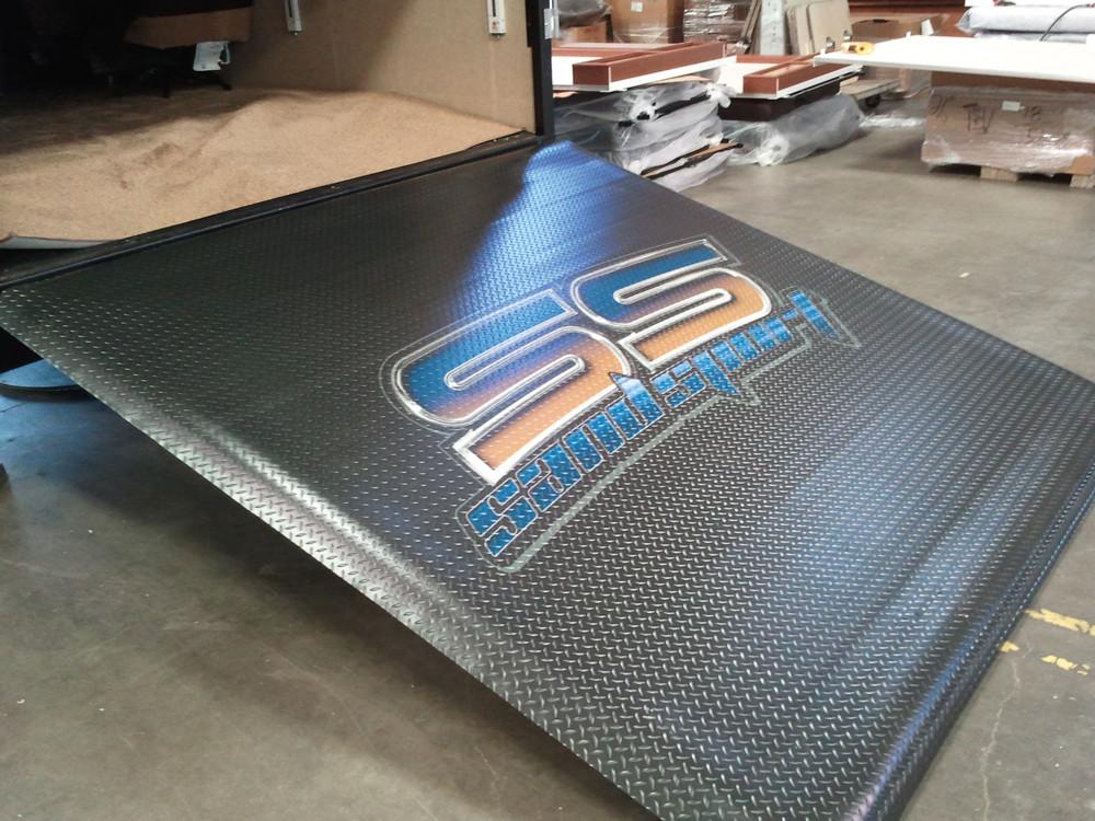 Custom Printed Flooring