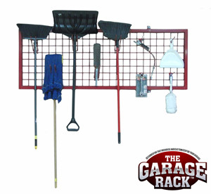 Wall Rack Organizer From The Garage Rack Red Series