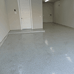 After Garage Floor Epoxy Photo