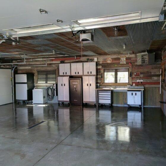 Anthony's Gloss Garage Floor