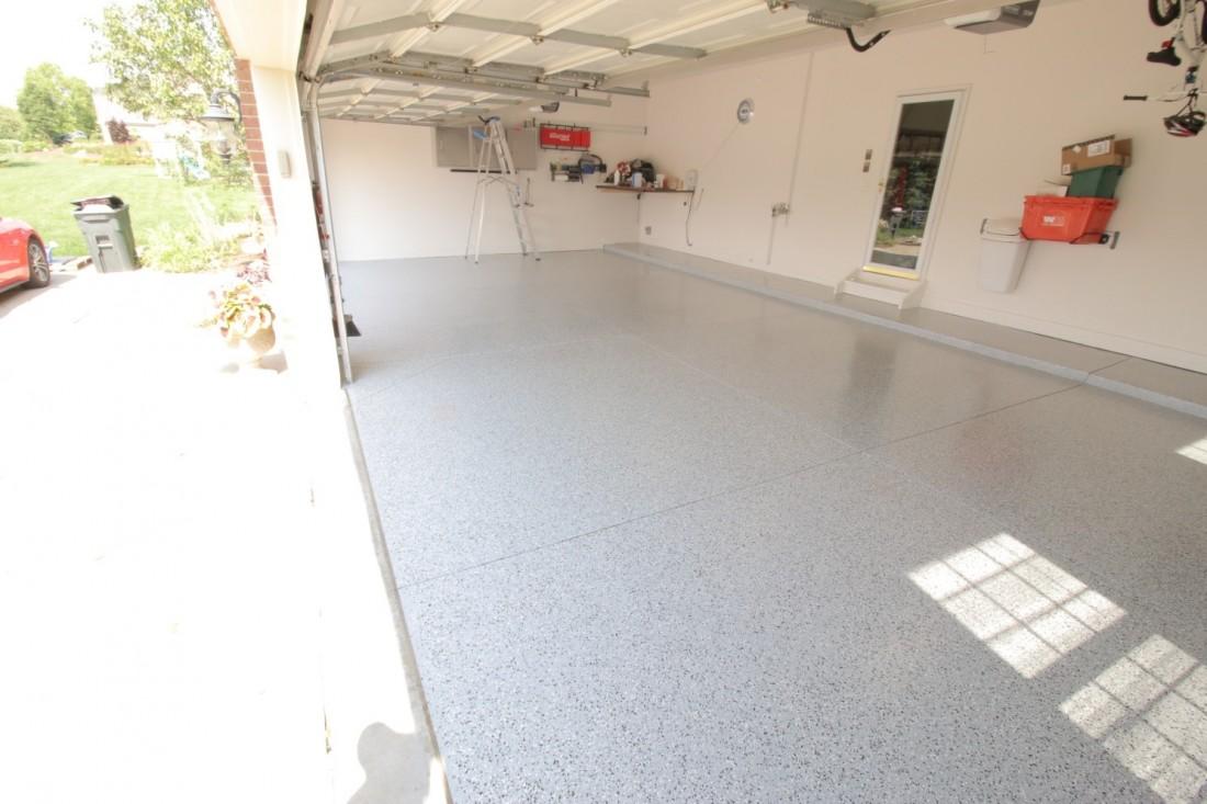 Don's Floor After Garage Floor Epoxy