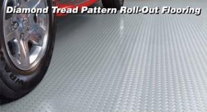 Roll Out Garage Floor Mat