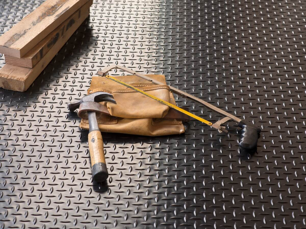 BLT Diamond Tread Garage Floor Mats #6