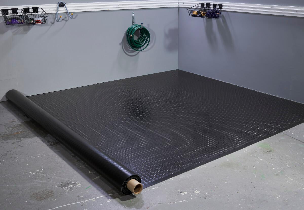 BLT Large Coin Garage Floor Mats #4
