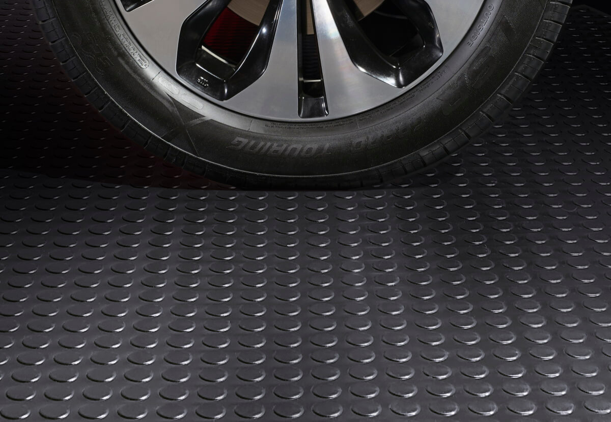 BLT Large Coin Garage Floor Mats #6