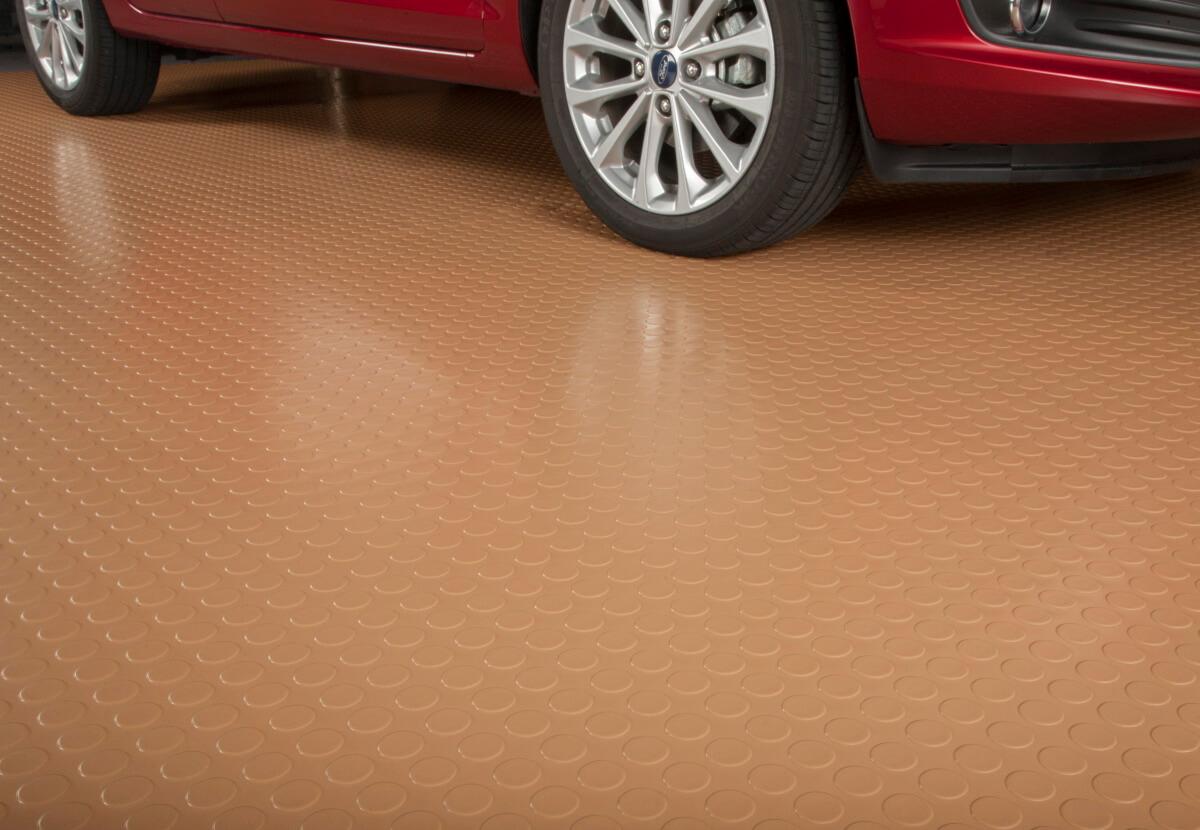 BLT Large Coin Garage Floor Mats #10