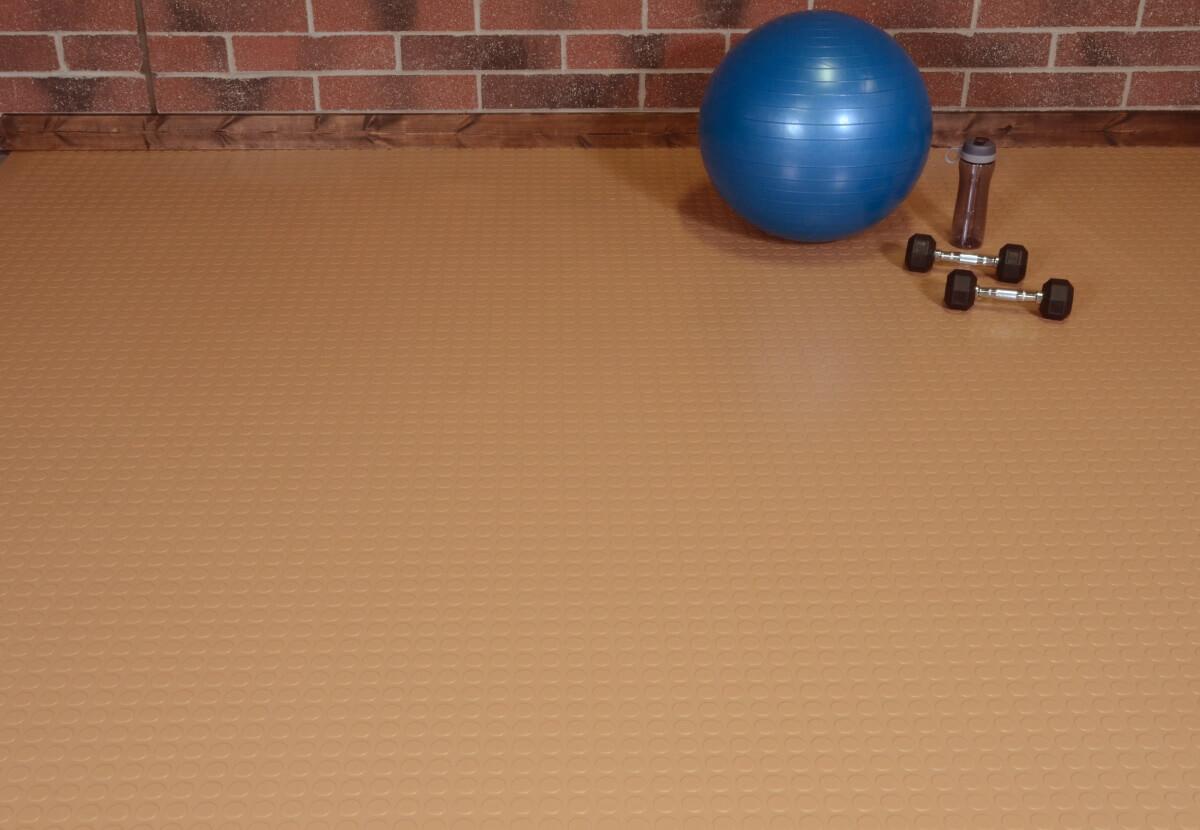 BLT Large Coin Garage Floor Mats #11