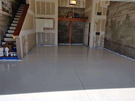 White Polyurea Floor coating