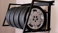 Hyloft Tire Storage for Garage