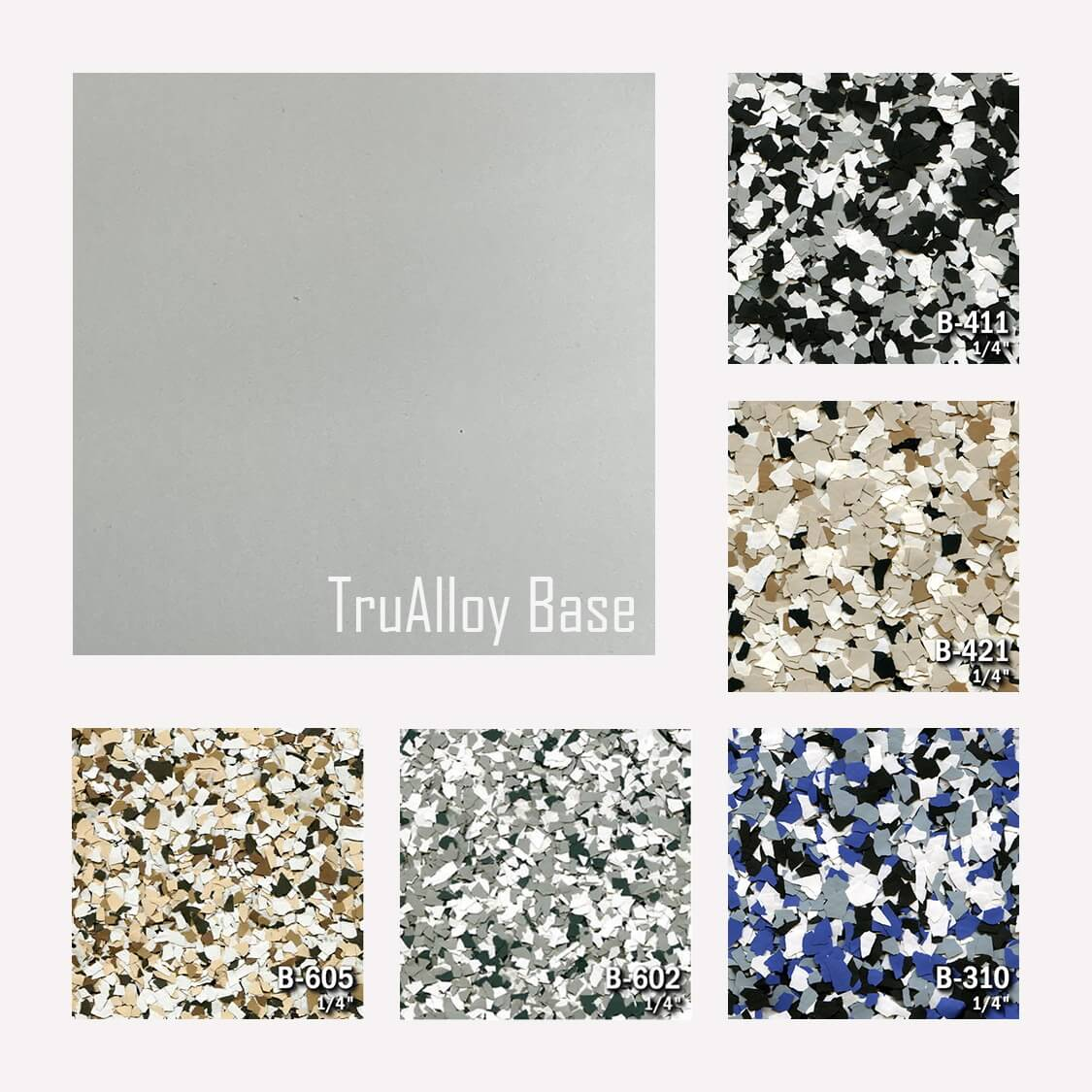 TruAlloy Color Chart