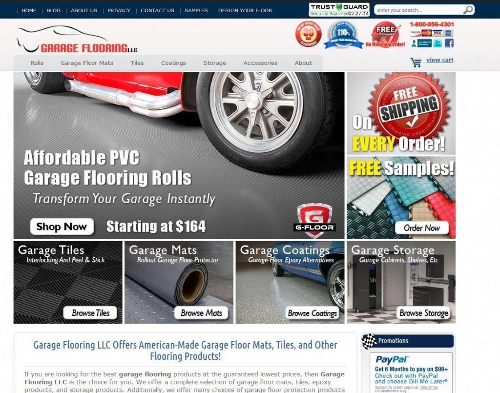The New Garage Flooring LLC
